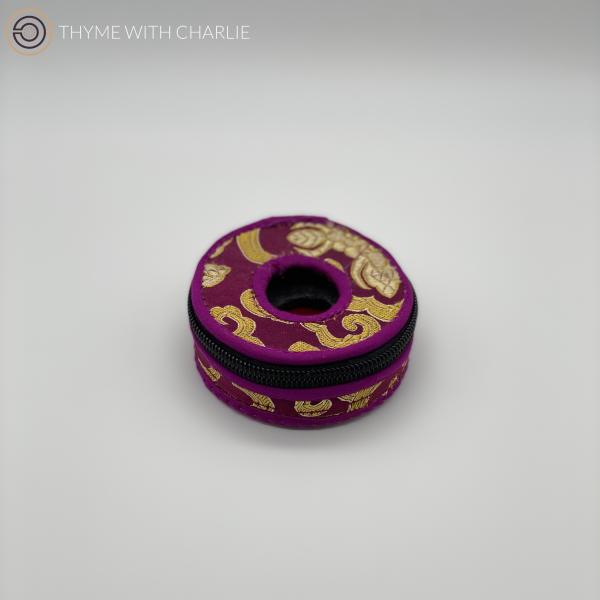 Tingsha Cover Purple